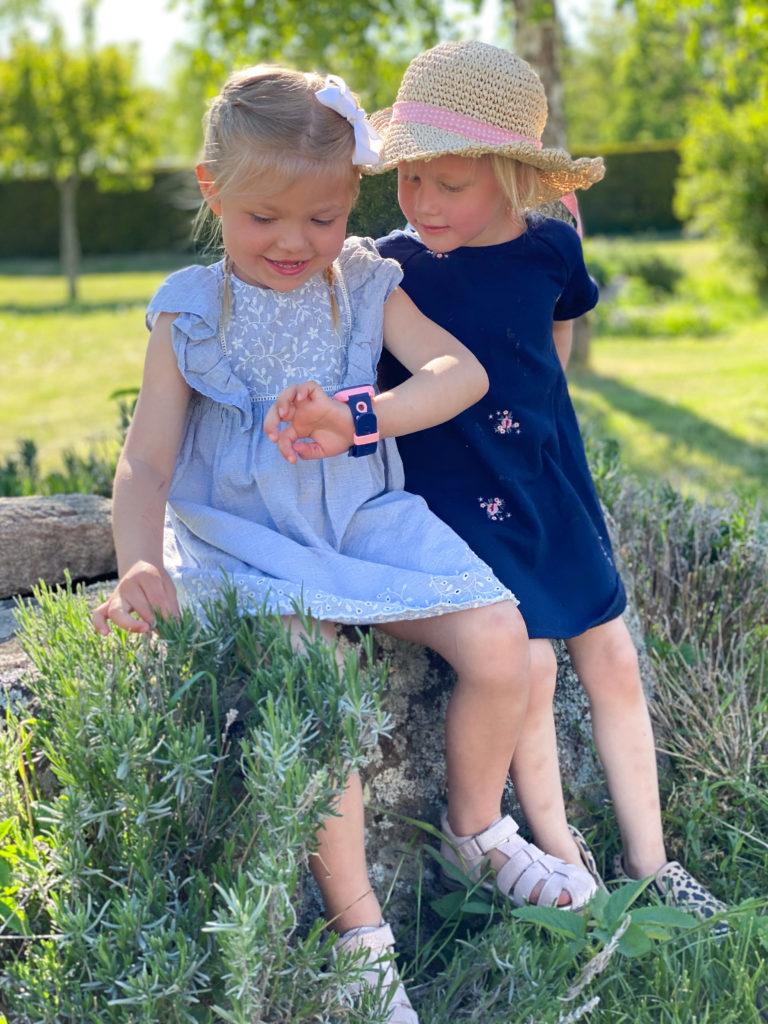 XPLORA smartwatch - rosa mobilklocka barn