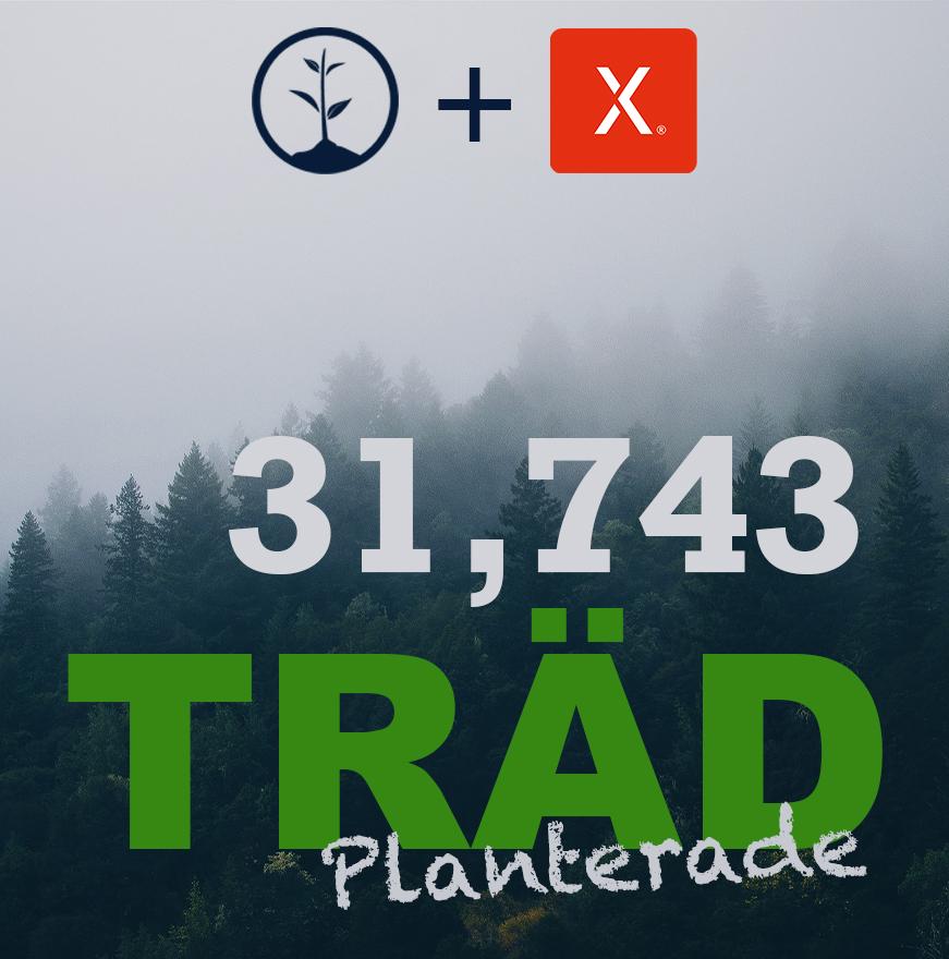 XPLORA smartwatch för barn bidrar med 31 743 träd i Kanada!
