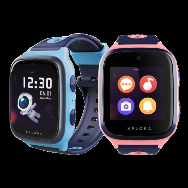 xplora-x4-blå-och-rosa