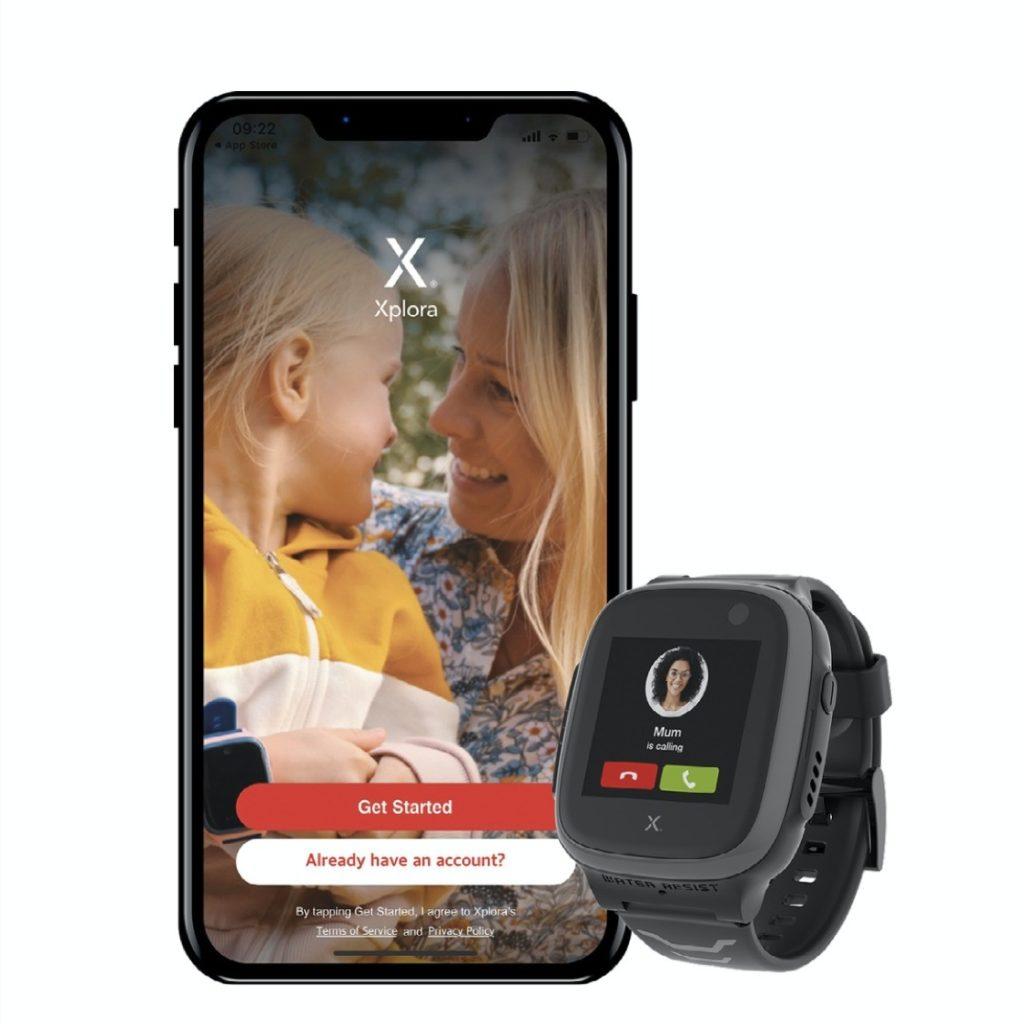 x5 med mobil xplora app