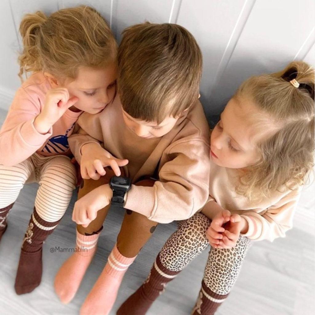 Mobilklocka för barn Xplora