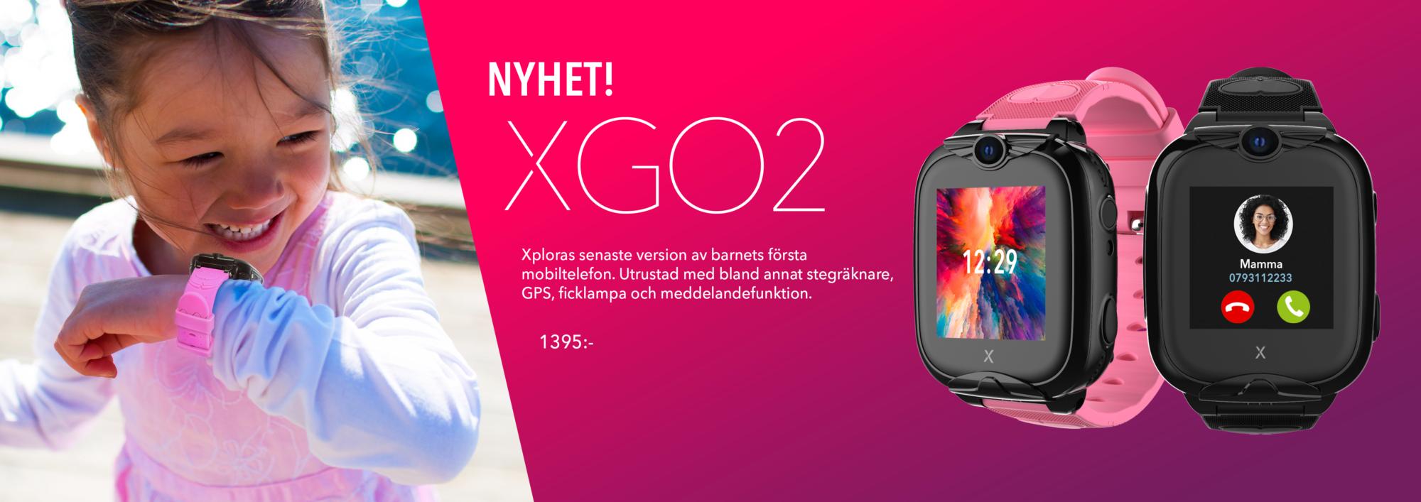 Mobilklocka för barn Xplora XGO2